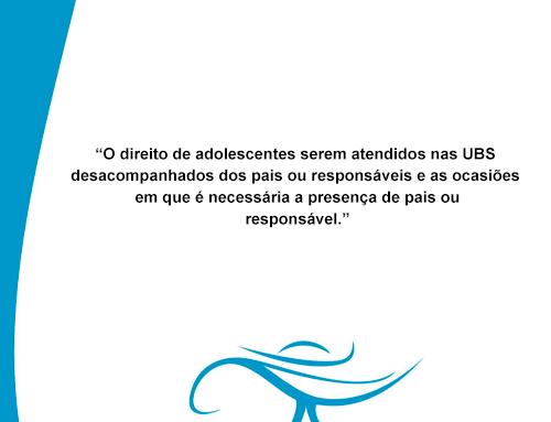 O direito de adolescentes serem atendidos nas UBS